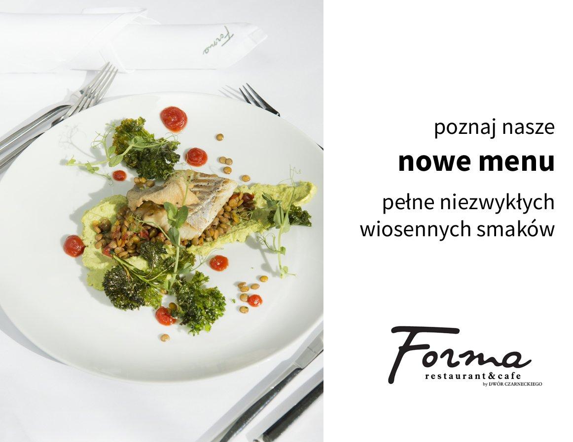 poznaj nasze nowe menu
