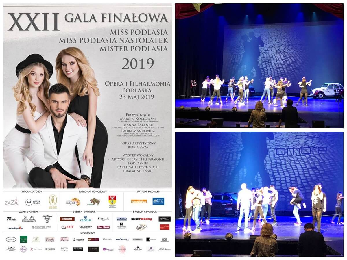 Plakat Miss i Mister Podlasia 2019