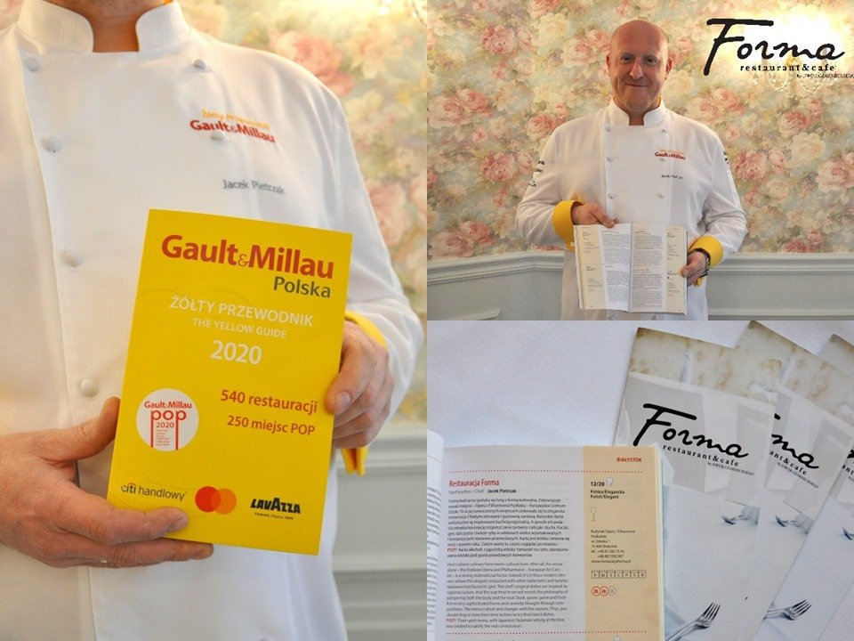 Wyróżnienie dla restauracji Forma w Gault & Millau